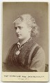 Minnie Walton (Mrs Frederick Lyster), by Fradelle & Marshall - NPG Ax18161