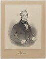 Henry John Temple, 3rd Viscount Palmerston, by John Samuelson Templeton, printed by  M & N Hanhart, published by  Thomas McLean, after  Sir William Charles Ross - NPG D39519