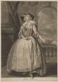Grace Tosier, by and published by John Faber Jr, after  Bartholomew Dandridge - NPG D39653