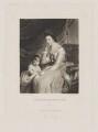 John Parker, 1st Earl of Morley; Theresa Parker, by and published by Samuel William Reynolds, after  Sir Joshua Reynolds - NPG D39541