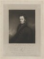 Charles Gordon-Lennox, 5th Duke of Richmond and Lennox, by Edward Scriven, printed by  McQueen (Macqueen), published by and after  Charles Ambrose - NPG D39751