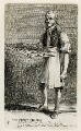 James Sharp (Sharpe) Egland or Eagland ('The Flying Pie-Man'), by and published by John Thomas Smith - NPG D40084