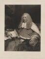 Sir John Patteson, by Samuel Cousins, published by  Sir Francis Graham Moon, 1st Bt, after  Margaret Sarah Carpenter (née Geddes) - NPG D39569