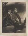 Jacob Howell Pattisson; William Henry Ebenezer Pattisson, by John Charles Bromley, after  Sir Thomas Lawrence - NPG D39573