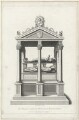 Tomb of Sir Nicholas Bacon in St Paul's, by William Finden, published by  Lackington & Co, and published by  Longman & Co - NPG D40123