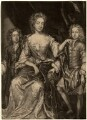 James Scott, Earl of Dalkeith; Anna Scott, Duchess of Monmouth and Duchess of Buccleuch; Henry Scott, 1st Earl of Deloraine, by John Smith, after  Sir Godfrey Kneller, Bt - NPG D10986