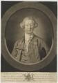 William Henry Nassau de Zuylestein, 4th Earl of Rochford, by Valentine Green, printed for  Robert Sayer, after  Jean Baptiste Perronneau - NPG D39824