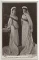 Olga, Grand Duchess of Russia; Tatiana, Grand Duchess of Russia, by Boissonnas & Eggler, published by  Rotary Photographic Co Ltd - NPG x131658