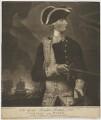 George Bridges Rodney, 1st Baron Rodney, by and published by Valentine Green, after  Hugh Barron - NPG D39831