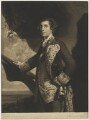 George Bridges Rodney, 1st Baron Rodney, by James Watson, after  Sir Joshua Reynolds - NPG D39833