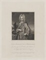 Charles Mordaunt, 3rd Earl of Peterborough, by William Thomas Fry, published by  Harding & Lepard, after  William Derby, after  Michael Dahl - NPG D40168