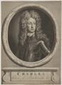 Charles Mordaunt, 3rd Earl of Peterborough, by and published by Pieter Stevens van Gunst, after  Sir Godfrey Kneller, Bt - NPG D40172