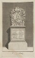 Monument to John Philips in Westminster Abbey, by S. Cole, after  Unknown artist - NPG D40189