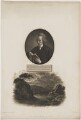 Joseph Townsend with 'View of the Escurial by Moon Light', by William Holl Sr, after  John Opie, and by  Thomas Milton, after  John Townsend, published by  Robert John Thornton - NPG D40067