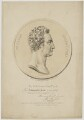 William Roscoe, by Maxim Gauci, printed by  Francis Moser, published by  Colnaghi & Co, after a marble relief by  John Gibson - NPG D39869