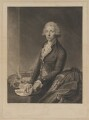 William Pitt, by and published by John Keyse Sherwin, and published by  Robert Wilkinson, after  Thomas Gainsborough - NPG D40236
