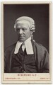 Henry Hawkins, Baron Brampton, by London Stereoscopic & Photographic Company - NPG x134628