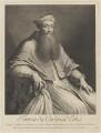 Unknown man engraved as Reginald Pole, by Nicolas de Larmessin III, after  Sebastiano del Piombo - NPG D40292