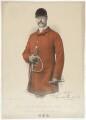 Reginald Walkelyne Chandos-Pole, by H. Hill, published by  W.H. Coaten, after  Alexander Bassano - NPG D40297