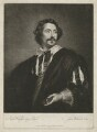 Paulus Pontius (Paulus Du Pont), by James Watson, published by  Victor Marie Picot, after  Sir Anthony van Dyck - NPG D40344