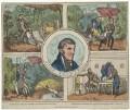 John Thurtell; William Weare; Joseph Henry Blaine Hunt; William Probert, published by Hodgson & Co - NPG D40332