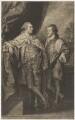 William Henry Cavendish Bentinck, 3rd Duke of Portland; Lord Edward Charles Bentinck, by John Raphael Smith, after  Benjamin West - NPG D40372