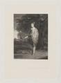 William Henry Cavendish-Scott-Bentinck, 4th Duke of Portland when Marquess of Titchfield, by Charles Algernon Tomkins, after  Sir Joshua Reynolds - NPG D40378