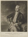Sir Charles Thompson, Bt, by Richard Earlom, after  Thomas Gainsborough - NPG D40421