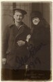 Ida Barr (Maud Barlow) and an unknown man, by Metropole Studios - NPG Ax160066