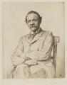 Sir Joseph John Thomson, by Francis Dodd - NPG D40441
