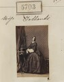 Probably Mary Brettle Ellis Jollands, by Camille Silvy - NPG Ax55658