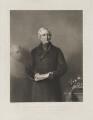 Sir Edward Sabine, by James Scott, published by  Henry Graves & Co, after  Stephen Pearce - NPG D39977