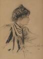Dame Christabel Pankhurst, by Richard George Mathews - NPG 6904