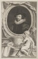 Francis Bacon, 1st Viscount St Alban, by Jacobus Houbraken, published by  John & Paul Knapton - NPG D39991