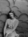 Sylvia (née Hawkes), Lady Ashley, by Paul Tanqueray - NPG x180081