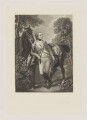 John Hayes St Leger, by John Scott, after  Thomas Gainsborough - NPG D40010