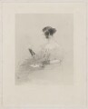 Ellen Power ('My Wife'), by Henry Thomas Ryall, after  Sir Edwin Henry Landseer - NPG D40463