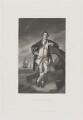 Philemon Pownall, by Edwin Hunt, published by  Henry Graves & Co, after  Sir Joshua Reynolds - NPG D40469
