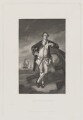 Philemon Pownall, by Edwin Hunt, published by  Henry Graves & Co, after  Sir Joshua Reynolds - NPG D40471
