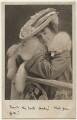 Alice Lloyd (née Wood), by Charles William Faulkner & Co ('C.W.F. & Co') - NPG Ax160138