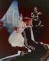 Queen Elizabeth II; Prince Philip, Duke of Edinburgh, by Cecil Beaton - NPG P1458