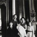 Prince Charles; Prince Philip, Duke of Edinburgh; Prince Andrew, Duke of York; Queen Elizabeth II; Princess Anne, by Cecil Beaton - NPG P1481