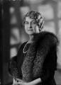 Ethel Constance (née Clark), Lady Nanton, by Bassano Ltd - NPG x154909
