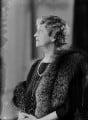 Ethel Constance (née Clark), Lady Nanton, by Bassano Ltd - NPG x154910