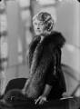 Ethel Constance (née Clark), Lady Nanton, by Bassano Ltd - NPG x154911