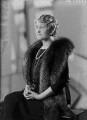 Ethel Constance (née Clark), Lady Nanton, by Bassano Ltd - NPG x154912