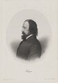 Alfred, Lord Tennyson, by Julien M., printed by  Lemercier, published by  Henry Graves & Co, published by  Victor Delarue, after  Oscar Gustav Rejlander - NPG D40520