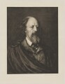Alfred, Lord Tennyson, by Sir Hubert von Herkomer, published by  Berlin Photographic Co - NPG D40524