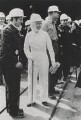 Queen Elizabeth II visits the Silverwood Colliery in Yorkshire, by Andrew Davidson, for  Camera Press: London: UK - NPG x134734
