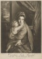 'Caroline Curzon (née Colyear), Lady Scarsdale with her son the Honourable John Curzon' (John Curzon; Caroline Curzon (née Colyear), Lady Scarsdale), by P. or S. Paul (Samuel de Wilde?), printed for  John Bowles, after  Sir Joshua Reynolds - NPG D40561